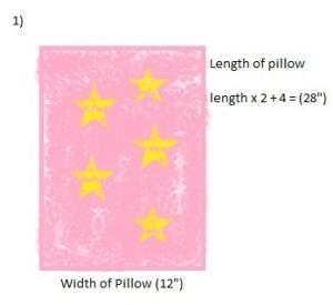 Envelope Cushion Step 1