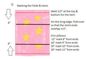 Envelope Cushion Step 2